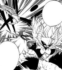 Etherious Kyôka strikes Erza
