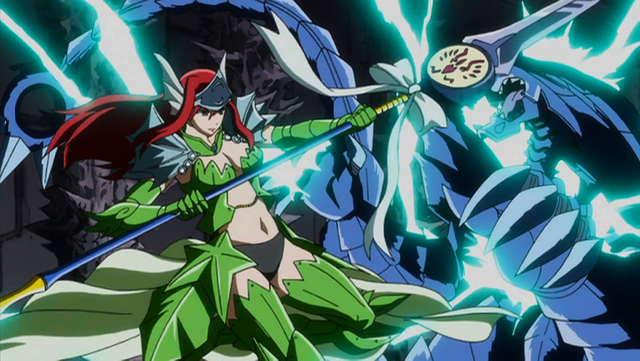 File:Erza defeat monster using sea empress and lightning spear.png