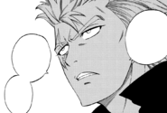 Laxus tells Gray his resolve
