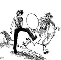 Gray Kicks Natsu