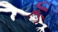 Erza trying to climb