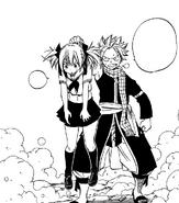 Natsu catches Sherria