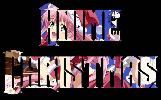 Anime Christmas Logo