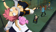 Everlue summon Virgo and Natsu