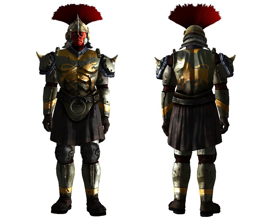 how to get legion armor new vegas