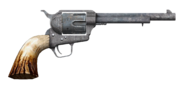 .357 magnum revolver with long barrel