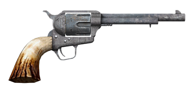 File:.357 magnum revolver with long barrel.png