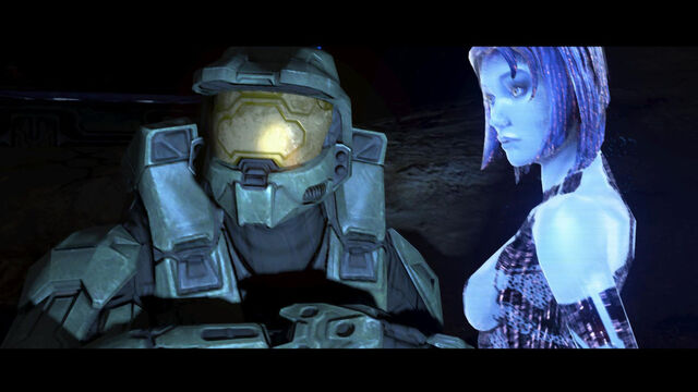 File:Chief and Cortana by CrazyHerbie.jpg