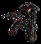 Outcast sentry bot minigun