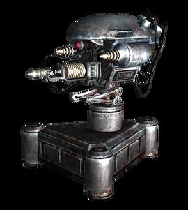 fallout 4 machine gun turret