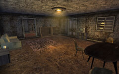 Isaacs house interior