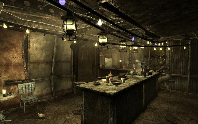 File:The Brass Lantern Interior behind the bar.jpg