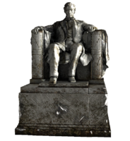 Lincoln statue fixed