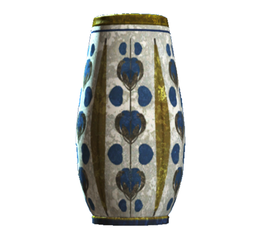 File:Empty floral rounded vase.png