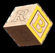 Wooden block B