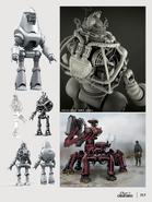Fo4 protectron concept art