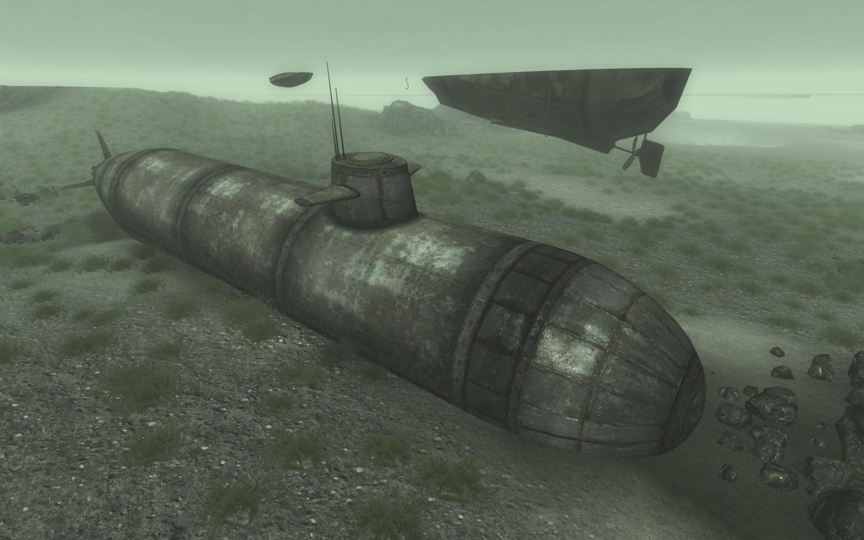 fallout 4 китайская подводная лодка