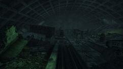 Arlington Falls Church Metro interior
