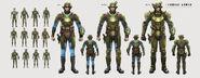 Art of FO4 Combat Armor