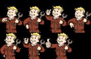 VaultBoy AnimationsRushOk