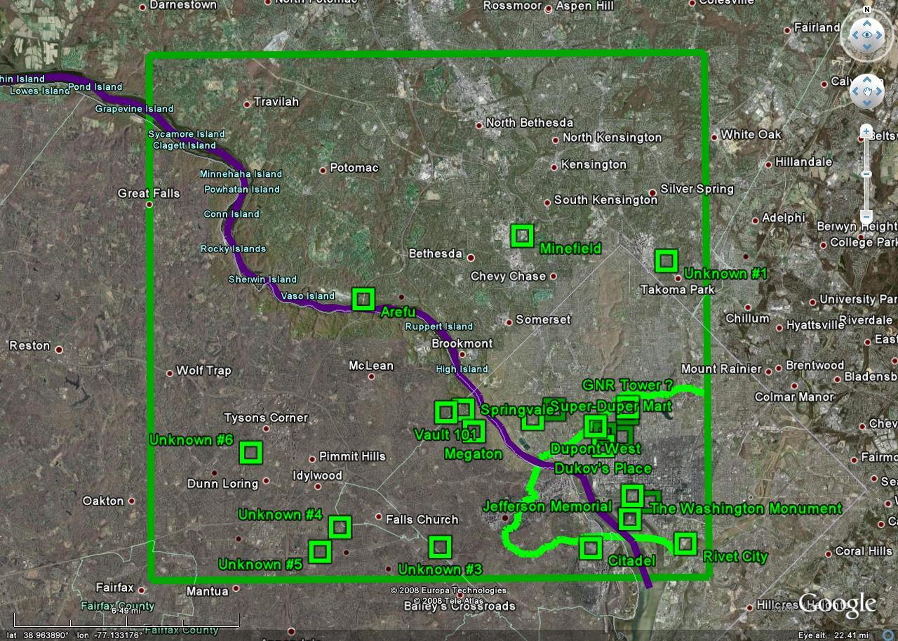 Fallout 3 map | Fallout Wiki | Fandom powered by Wikia
