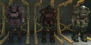 FO4 Hot rodder armor colors