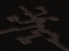 Redding mining town tunnels