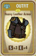 FoS Heavy Leather Armor Card