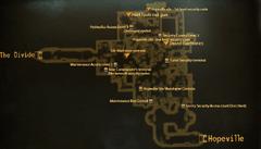 Hopeville missile silo bunker map