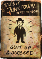 Jerky vendor suit up cover