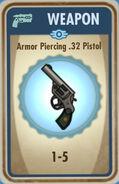 FoS Armor Piercing .32 Pistol Card