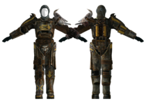 Fo3TP Tribal T45D power armor