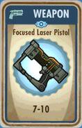 FoS Focused Laser Pistol Card