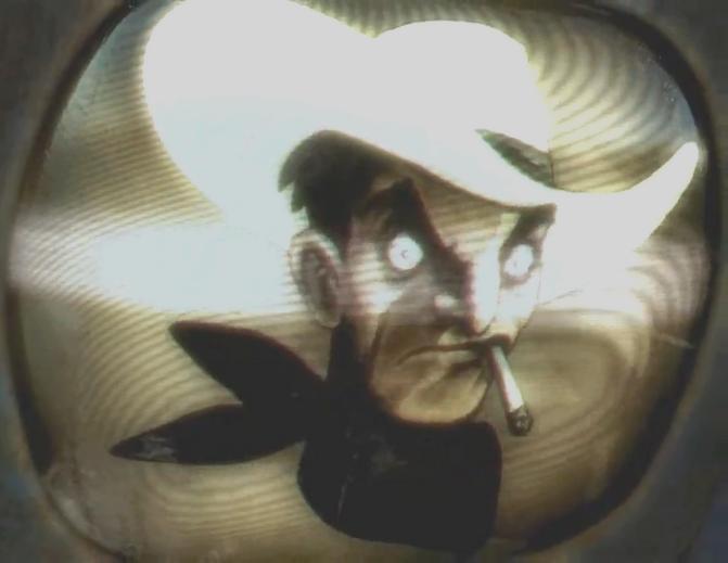 Cowboy Robot Fallout New Vegas Fallout New Vegas Trailer