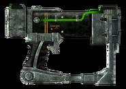 Laser pistol optics