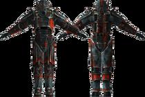 Outcast T45d power armor
