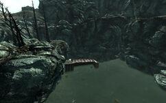 Wasteland lake hideout