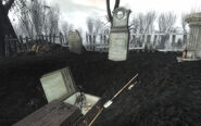 PL Ofie Clan Plot opened grave