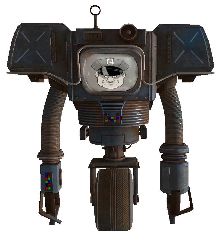 Securitron Fallout Wiki Fandom Powered By Wikia
