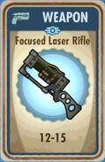 FoS Focused Laser Rifle Card
