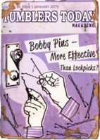 Tumblers Today - Bobby Pins - More Effective Than Lockpicks
