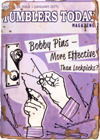 File:Tumblers Today - Bobby Pins - More Effective Than Lockpicks.png