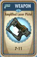 Fos Amplified Laser Pistol Card