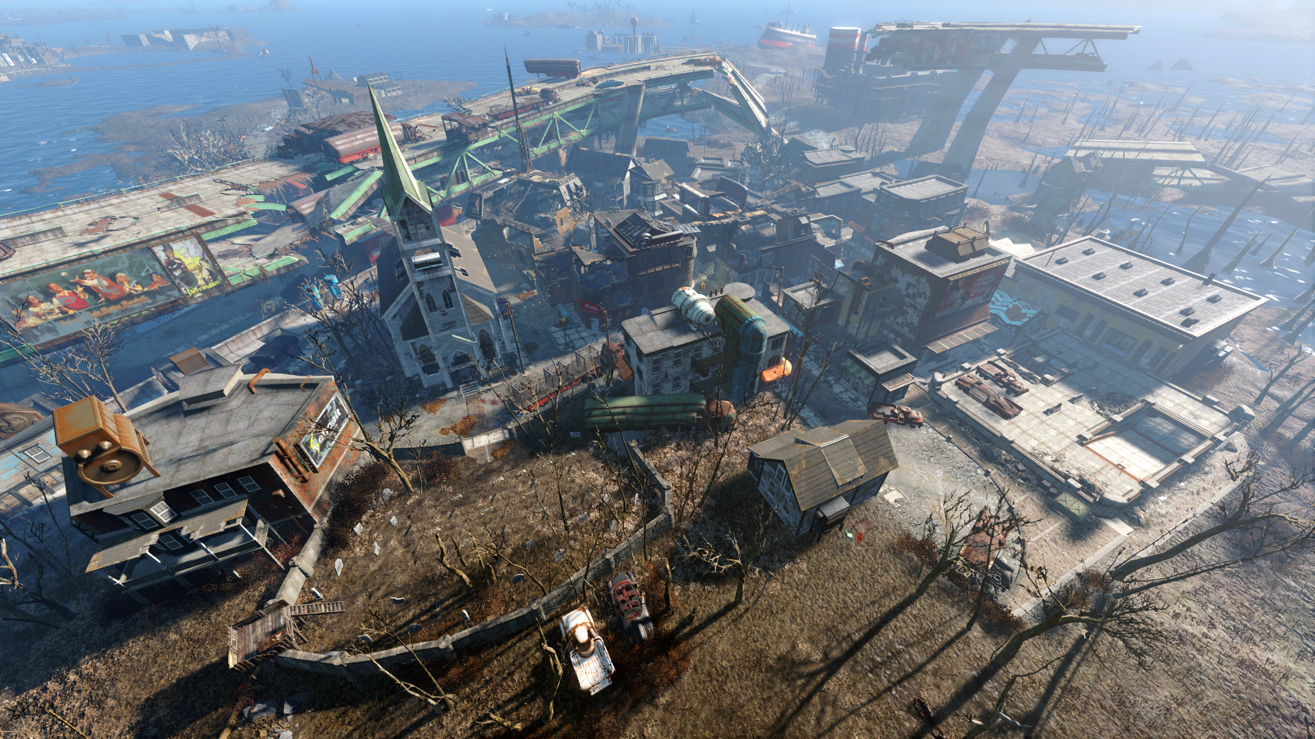 how to get to the nakano residence fallout 4