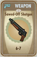 FoS Sawed-Off Shotgun Card