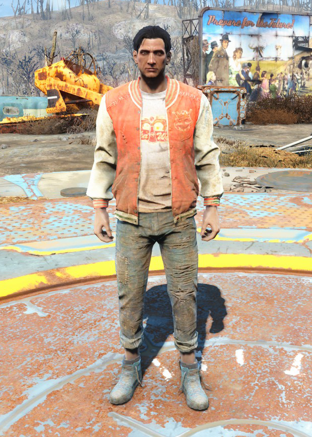 Nuka-World geyser jacket & jeans | Fallout Wiki | FANDOM powered ...