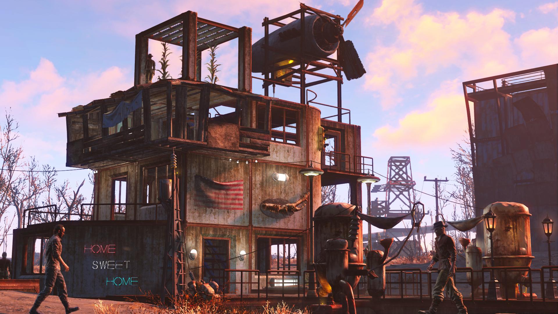 Скриншот второй из Fallout 4 Wasteland Workshop