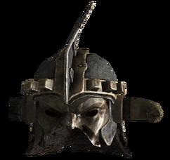 Marked beast eyes helmet