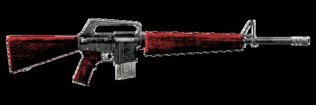 Emilys Service Rifle - Scar