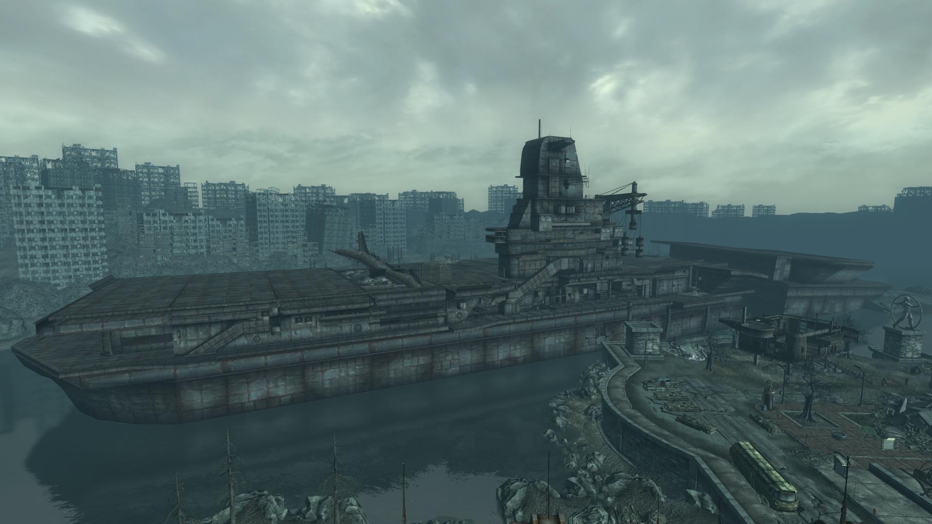 Fallout  Car Fort Mod